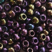 Toho 6/0 Seed Beads Metallic Purple Iris 85 - 10 grams